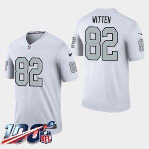 Las Vegas Raiders Jason Witten White Rush Jersey